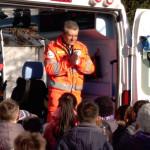 Visita ambulanza Croce Verde Bagnolo