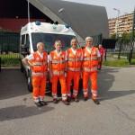 Palavela volontari Croce Verde Torino