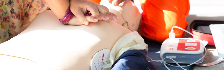 Corsi di formazione per l'utilizzo dei defibrillatori semiautomatici esterni