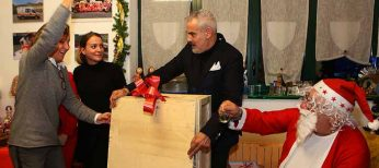Donazione a Ivrea Soccorso di una sedia portantina elettrica