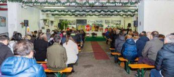 Messa di Natale in Croce Verde Alessandria