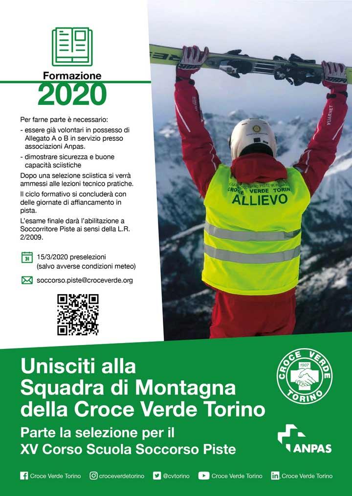 Corso Soccorso Piste Anpas Croce Verde Torino