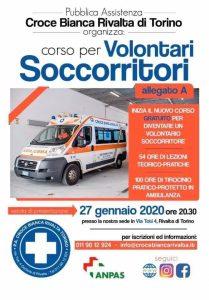 Corso Volontari soccorritori Croce Bianca Rivalta