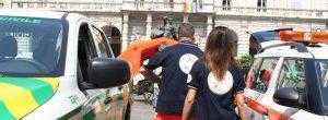 Volontari Anpas a Torino Palazzo di Città
