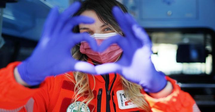 Volontaria soccorritrice Anpas