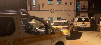 Colonna di aiuti alla Croce Bianca Ceva