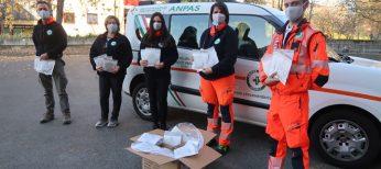 Croce Verde Rivoli donazione mascherine Uniqlo