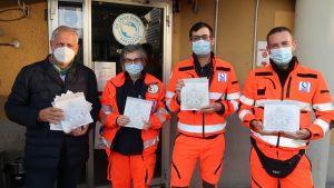 Volontari Croce Bianca Orbassano donazione Uniqlo