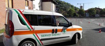 Automezzo per servizi sociali Croce Verde Bagnolo