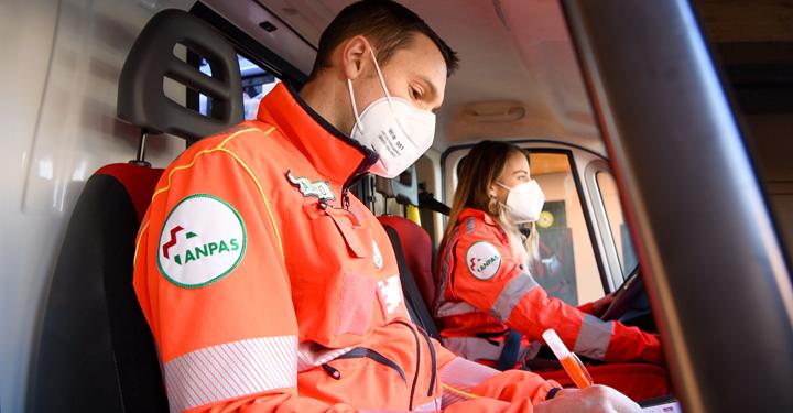 Volontari soccorritori Anpas