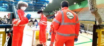 Volontari Novara Soccorso campagna vaccinale