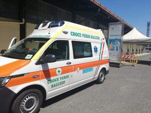 Ambulanza Croce Verde Saluzzo