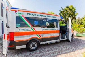 Ambulanza Croce Verde Alessandria