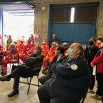 Presidente Andrea Bonizzoli - Inaugurazione Centrale Operativa Ats Vco